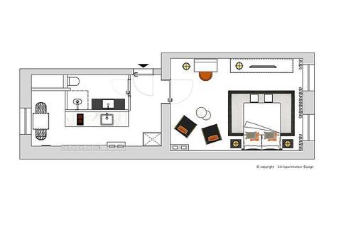 Bild 9 FLATHOPPER.de - Exklusive, perfekt geschnittene 1-Zimmer-Wohnung im sanierten Altbau - Berlin Charl