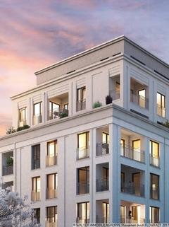 Eckansicht ERSTBEZUG IN BOGENHAUSEN: Ruhige, sonnige Innenhoflage, 5. OG., S/W-Balkon, geplanter Bezug 12/2018