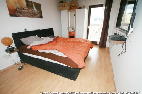 Schlafzimmer Ruhig in der City wohnen!