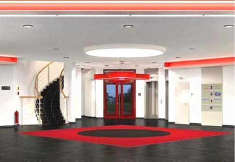 Foyer STOCK - Repräsentative Büroflächen im Münchner Osten