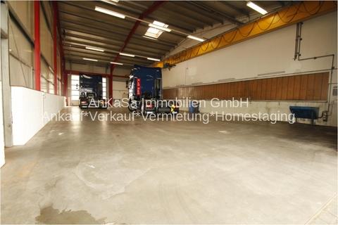 Halle Moderne Lager/Logistikhalle inkl. Empfang, Sanitär & LKW Parkplätze in Autobahnnähe A9 & A38