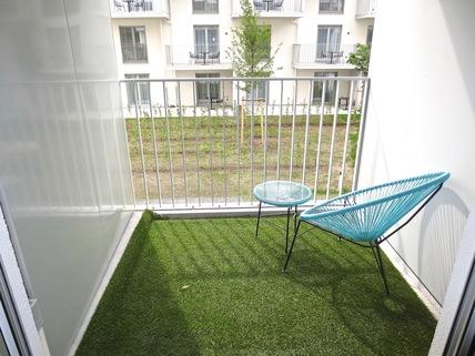 ...West-Balkon **Leopold Carré am Schwabing Tor**Großzügig geschnittenes Appartement auf höchstem Niveau**Frei zum Selbstbezug**