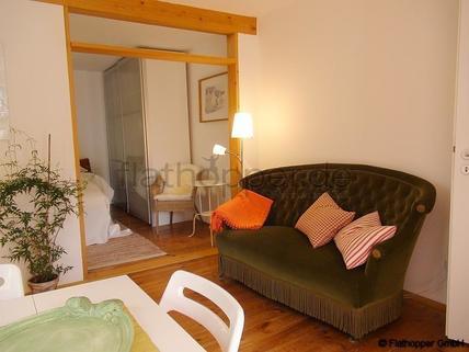 Bild 5 FLATHOPPER.de - Charmante, neu renovierte und ruhige 2-Zimmer- Wohnung mit Sonnenterrasse im Vorgar