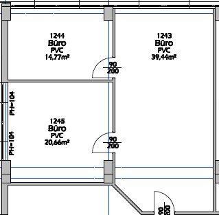 1S22b 3 Raum Lagerfläche für Akten usw. Top 1S22b