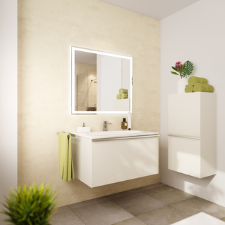 Illu Bad-Detail Neubau - großzügige Maisonnettewohnung in super Lage