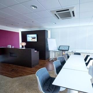Büro4 Terrassen ... Begrünte Innenhöfe ... Schicke Büros ... Was will man mehr?