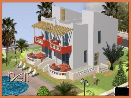 PTR0064_mvc-001f.jpg 1270qm. Grundstück. 4 Doppelhausvillen werden gebaut..