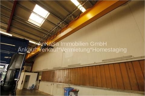 Hebebühne 2,5 Tonnen Moderne Lager/Logistikhalle inkl. Empfang, Sanitär & LKW Parkplätze in Autobahnnähe A9 & A38