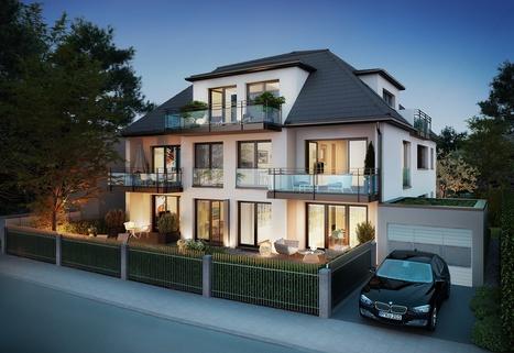 Illustration - Änderungen vorbehalten Stadthaus mit Südausrichtung in ruhiger Lage