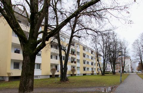Ansicht Ideal geschnittene 3-Zimmer-Wohnung in ruhiger, grüner Lage nahe Lerchenauer See