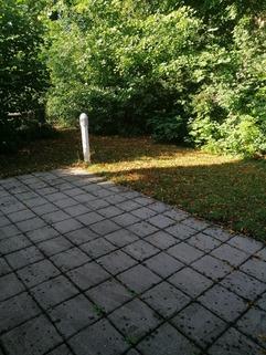 Terrasse mit Gartennutzung Maisonettewohnung mit Gartenanteil, Terrasse, Balkon u. TG-Stellplatz in ruhiger Lage, Obermenzing