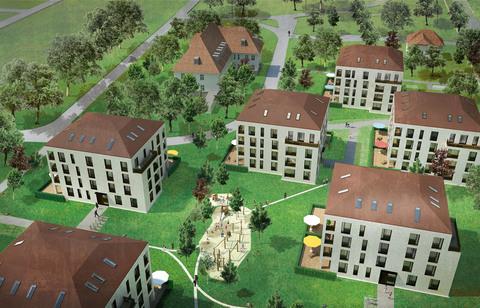 Bild 4 Neubau 1,5-Zi-EG-Wohnung