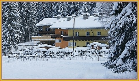 Full view of all 3 buildings / winter Investment   Immobilie - im Urlaubsparadies
