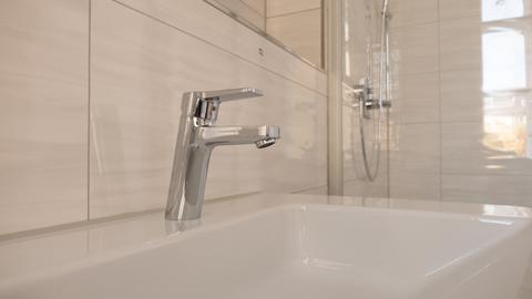 Badezimmerdetail Wohnjuwel im Herzen von München